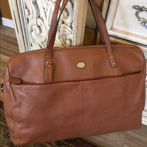 Coach Leather Metropolitan bag